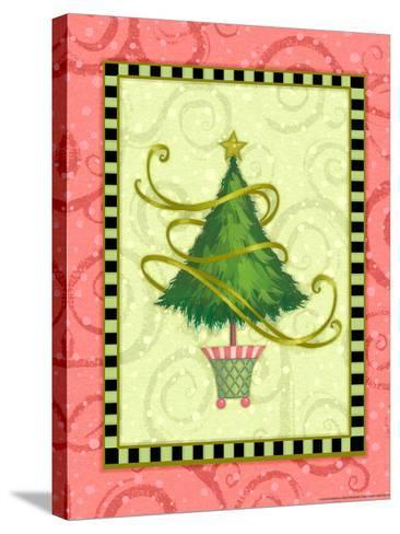 Holiday Tree 2-Viv Eisner-Stretched Canvas Print