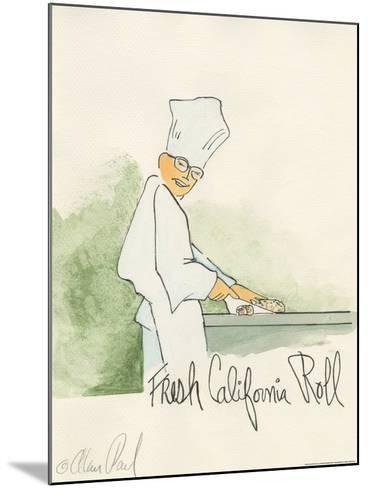 California Roll-Alan Paul-Mounted Art Print
