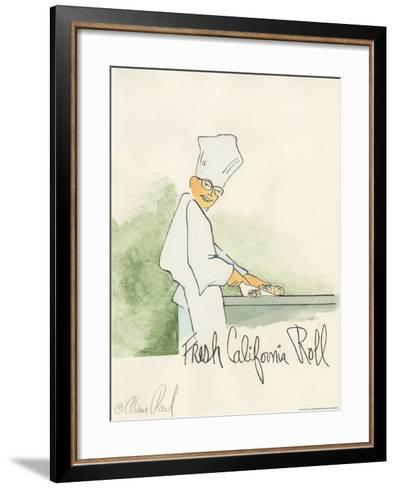 California Roll-Alan Paul-Framed Art Print
