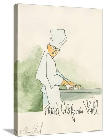 California Roll-Alan Paul-Stretched Canvas Print