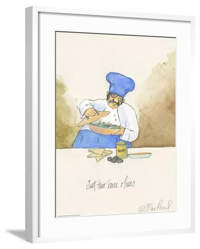 Two More Olives-Alan Paul-Framed Art Print