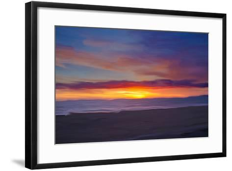 Ocean 9-Sally Linden-Framed Art Print