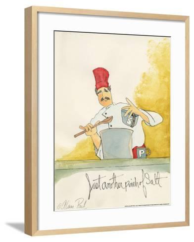 Pinch of Salt-Alan Paul-Framed Art Print