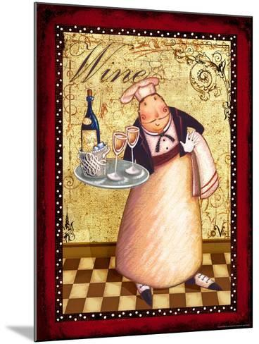 Chef 4 Wine-Viv Eisner-Mounted Art Print