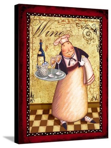 Chef 4 Wine-Viv Eisner-Stretched Canvas Print
