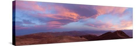 Panorama, USA, Death Valley National Park, Dantes View-Catharina Lux-Stretched Canvas Print