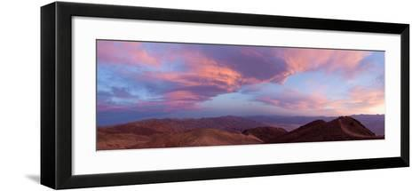 Panorama, USA, Death Valley National Park, Dantes View-Catharina Lux-Framed Art Print