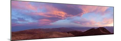 Panorama, USA, Death Valley National Park, Dantes View-Catharina Lux-Mounted Photographic Print