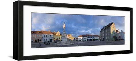 Austria, Lower Austria, Eggenburg, City View, Panorama-Rainer Mirau-Framed Art Print