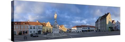 Austria, Lower Austria, Eggenburg, City View, Panorama-Rainer Mirau-Stretched Canvas Print