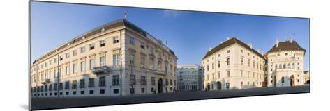 Austria, Vienna, Ballhausplatz, Federal Chancellery of the Republic, Outside-Facade, Panorama-Rainer Mirau-Mounted Photographic Print