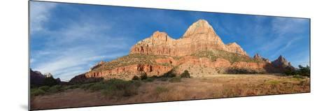 Panorama, USA, Zion National Park-Catharina Lux-Mounted Photographic Print