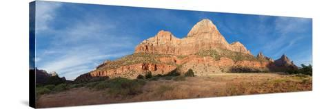Panorama, USA, Zion National Park-Catharina Lux-Stretched Canvas Print