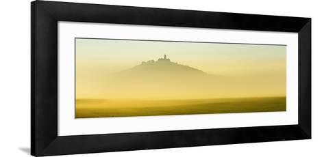 Germany, Thuringia, Wachsenburg Castle, Morning Fog-Andreas Vitting-Framed Art Print