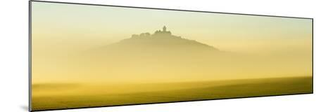 Germany, Thuringia, Wachsenburg Castle, Morning Fog-Andreas Vitting-Mounted Photographic Print