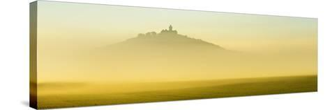 Germany, Thuringia, Wachsenburg Castle, Morning Fog-Andreas Vitting-Stretched Canvas Print