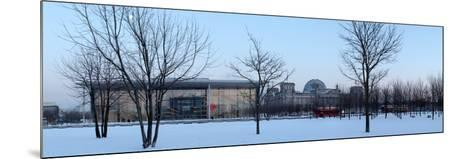 Germany, Berlin, Winter, Reichstag, Paul Lšbe Haus, Panorama-Catharina Lux-Mounted Photographic Print
