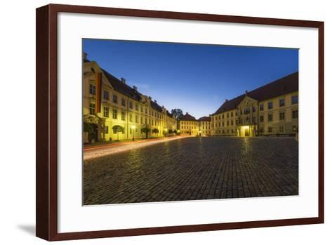 Germany, Bavaria, Upper Bavaria, AltmŸhltal (Valley), EichstŠtt-Udo Siebig-Framed Art Print
