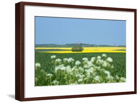 The Baltic Sea, RŸgen, Cape Arkona, Lighthouses, Summer-Catharina Lux-Framed Art Print