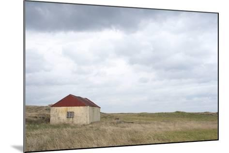 Old Barn, Reykjanes Peninsula, South West Iceland-Julia Wellner-Mounted Photographic Print