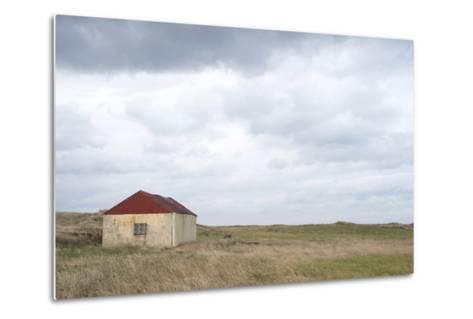 Old Barn, Reykjanes Peninsula, South West Iceland-Julia Wellner-Metal Print