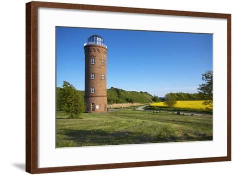 Germany, Mecklenburg-Western Pomerania, Island RŸgen, Kap Arkona, Peilturm-Chris Seba-Framed Art Print