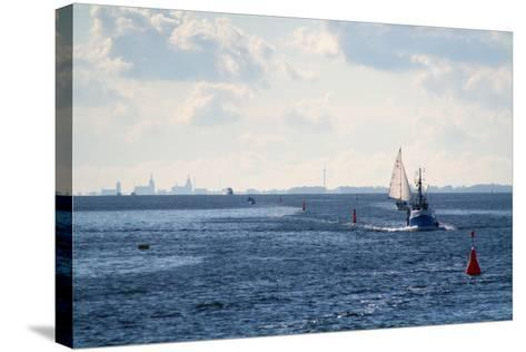 The Baltic Sea, Ferry Passage Hiddensee - Stralsund-Catharina Lux-Stretched Canvas Print