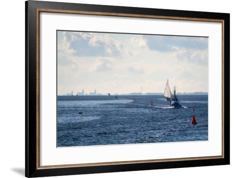 The Baltic Sea, Ferry Passage Hiddensee - Stralsund-Catharina Lux-Framed Art Print