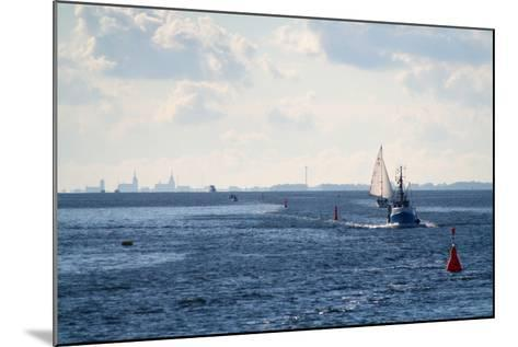 The Baltic Sea, Ferry Passage Hiddensee - Stralsund-Catharina Lux-Mounted Photographic Print