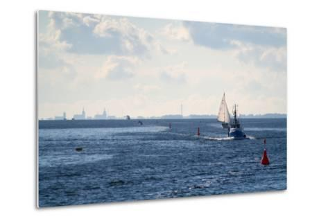 The Baltic Sea, Ferry Passage Hiddensee - Stralsund-Catharina Lux-Metal Print