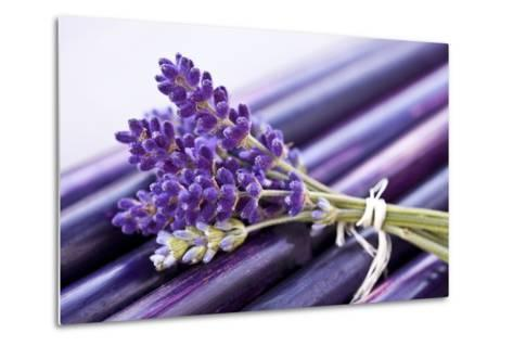 Lavender, Blossoms, Smell, Bunch-Andrea Haase-Metal Print