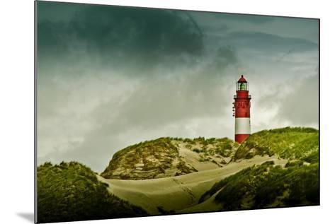 Germany, Schleswig-Holstein, Amrum, Dunes, Lighthouse-Ingo Boelter-Mounted Photographic Print