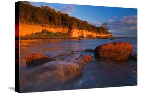 Baltic Sea, Insel Poel, Coast-Thomas Ebelt-Stretched Canvas Print