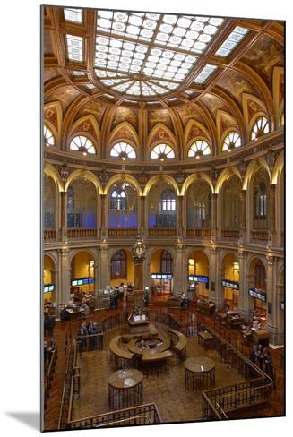 Spain, Madrid, Stock Exchange, Indoors, Rights Clarifies-Chris Seba-Mounted Photographic Print