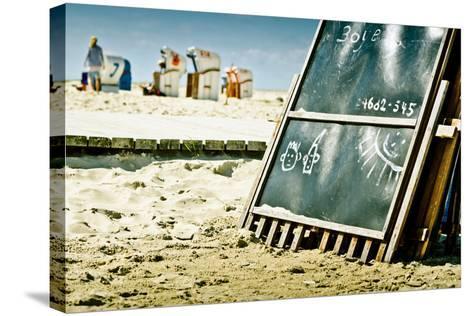 Germany, Schleswig-Holstein, Amrum, Norddorf, Beach-Ingo Boelter-Stretched Canvas Print