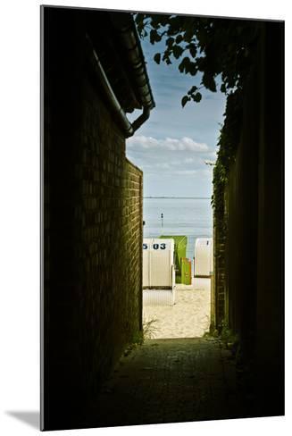 Germany, Schleswig-Holstein, Wyk, Sandy Beach, Bathing Beach-Ingo Boelter-Mounted Photographic Print