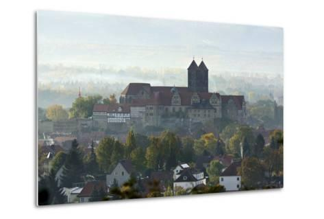 Castle Hill with Collegiate Church St. Servatius in the Morning Haze, UNESCO World Heritage-Andreas Vitting-Metal Print