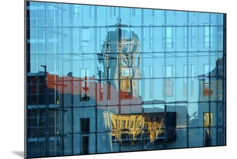 Berlin, Nikolaiviertel, Molkenmarkt, Town House, Reflection-Catharina Lux-Mounted Photographic Print