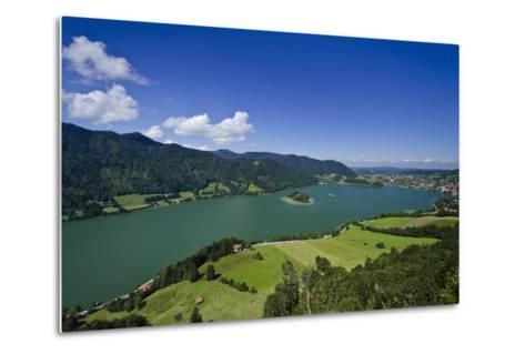 Germany, Bavaria, Upper Bavaria, Mangfall (Mountain Range), Schliersee (Village)-Udo Siebig-Metal Print