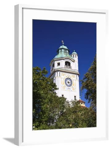 Germany, Bavaria, Upper Bavaria, Munich, Close MŸller'Sches Volksbad-Udo Siebig-Framed Art Print