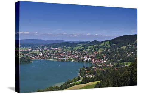 Germany, Bavaria, Upper Bavaria, Mangfall (Mountain Range), Schliersee (Village)-Udo Siebig-Stretched Canvas Print