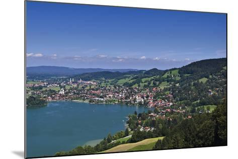 Germany, Bavaria, Upper Bavaria, Mangfall (Mountain Range), Schliersee (Village)-Udo Siebig-Mounted Photographic Print