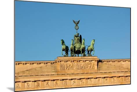Berlin, the Brandenburg Gate, Quadriga-Catharina Lux-Mounted Photographic Print