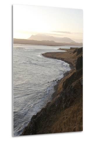 Hvitserkur Area, Hunafjšrdur, Hunafloi Bay, Vatnsnes Peninsula, North Iceland-Julia Wellner-Metal Print