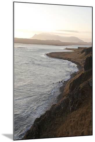 Hvitserkur Area, Hunafjšrdur, Hunafloi Bay, Vatnsnes Peninsula, North Iceland-Julia Wellner-Mounted Photographic Print