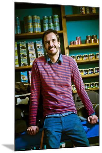 Germany, Hamburg, St Georg, Lange Reihe, Retail Shop, Pet Shop, Pet-Shop-Boyz, Owner-Ingo Boelter-Mounted Photographic Print