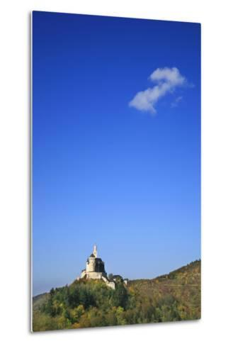 The Marksburg High Above Braubach at River Rhine-Uwe Steffens-Metal Print