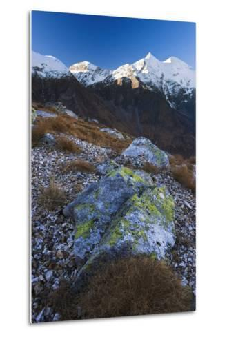 Austria, Tyrol, National-Park Hohe Tauern, Rocks, Mountain Scenery-Rainer Mirau-Metal Print