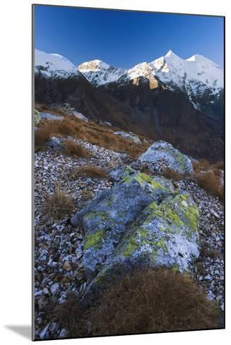 Austria, Tyrol, National-Park Hohe Tauern, Rocks, Mountain Scenery-Rainer Mirau-Mounted Photographic Print