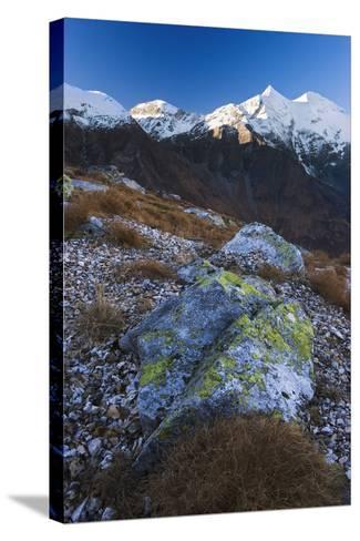 Austria, Tyrol, National-Park Hohe Tauern, Rocks, Mountain Scenery-Rainer Mirau-Stretched Canvas Print